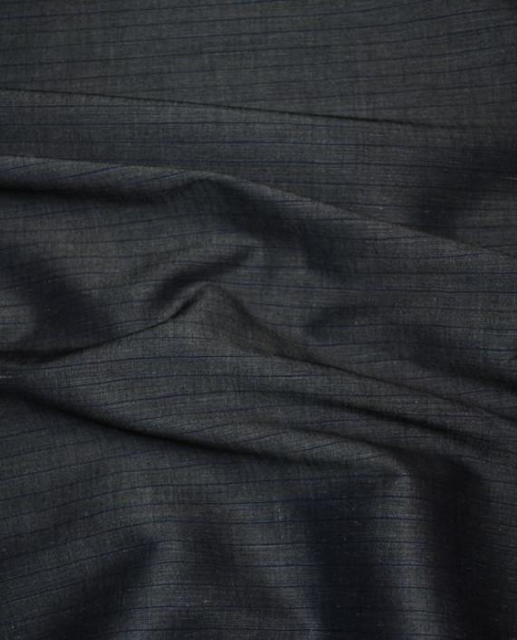 Ткань Лен и Хлопок 0001 цвет серый картинка