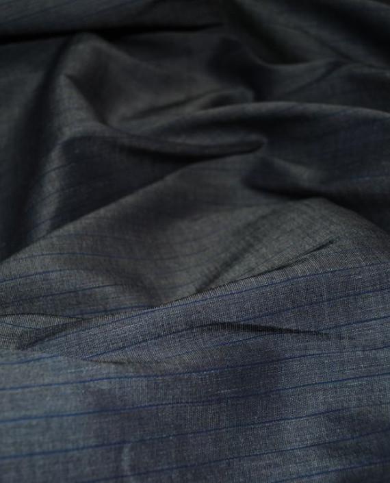 Ткань Лен и Хлопок 0001 цвет серый картинка 3