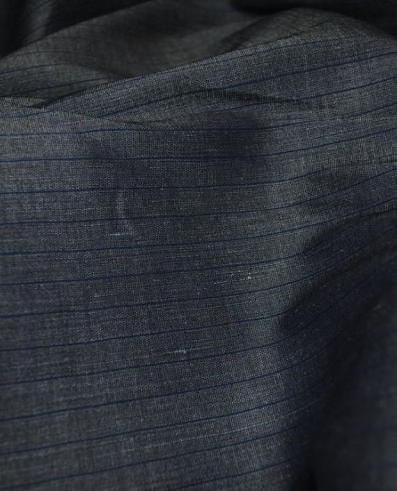 Ткань Лен и Хлопок 0001 цвет серый картинка 2