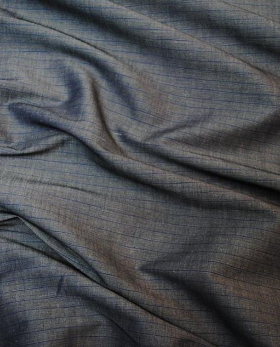 Ткань Лен и Хлопок 0001 цвет серый картинка 1