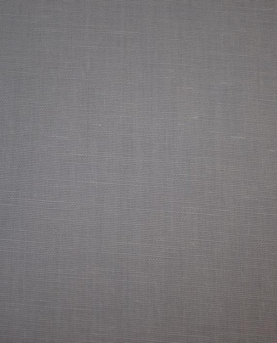 """Ткань Лен """"Белый-2"""" 0022 цвет белый картинка 1"""