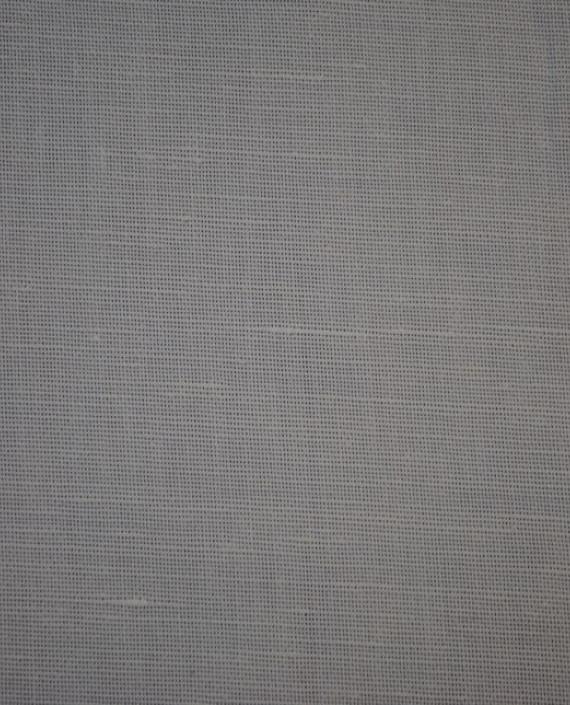 """Ткань Лен """"Белый-2"""" 0022 цвет белый картинка 2"""