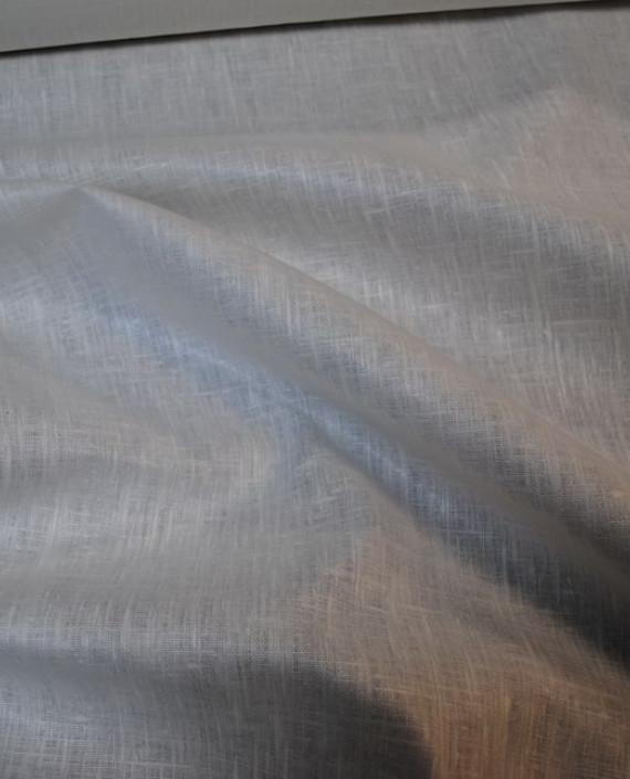 "Ткань Лен ""Белый Грубый"" 0024 цвет серый картинка"