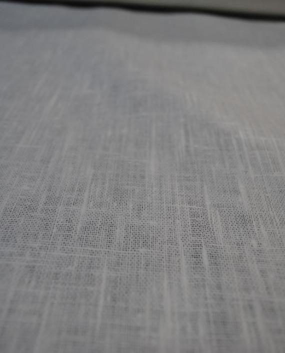 "Ткань Лен ""Белый Грубый"" 0024 цвет серый картинка 2"
