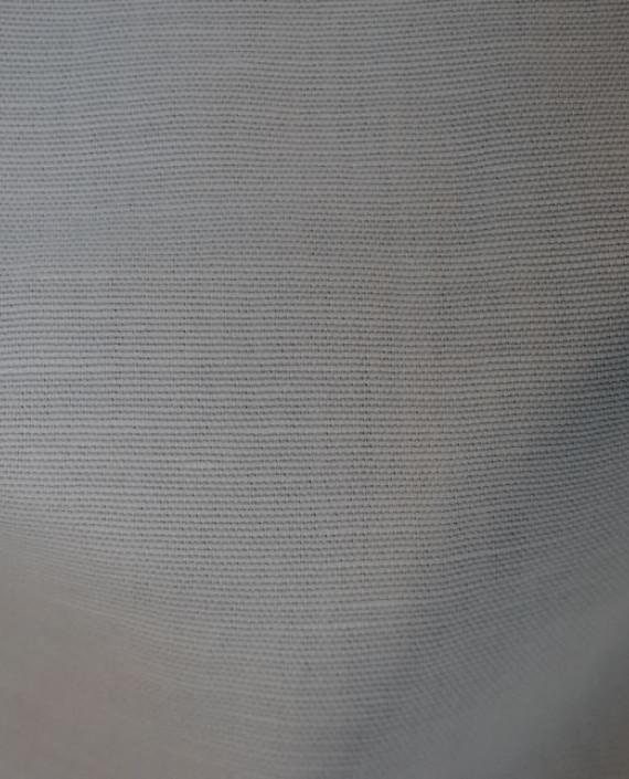 """Ткань Лен """"Белый-3"""" картинка 1"""