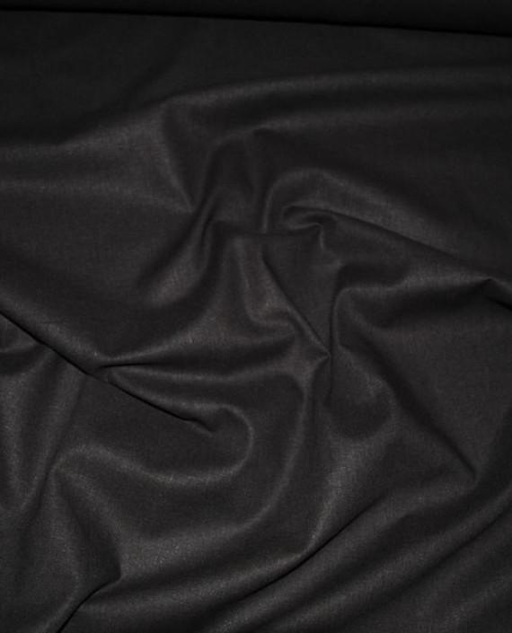 """Ткань Лен """"Темно коричневый"""" 0030 цвет коричневый картинка"""