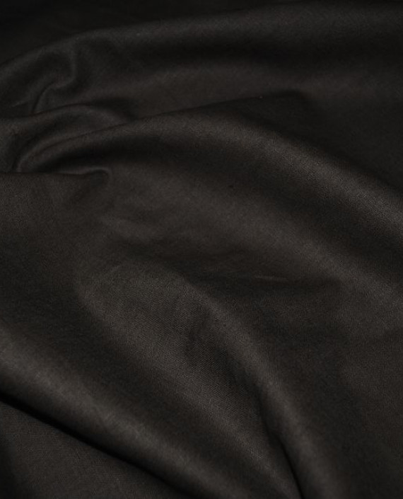 "Ткань Лен ""Темный Хаки"" 0032 цвет серый картинка 1"