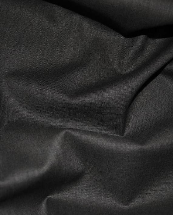 "Ткань Лен ""Хаки"" 0034 цвет серый картинка 2"