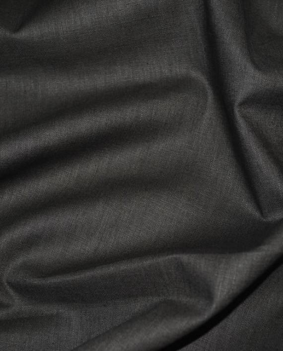 "Ткань Лен ""Хаки"" 0034 цвет серый картинка"