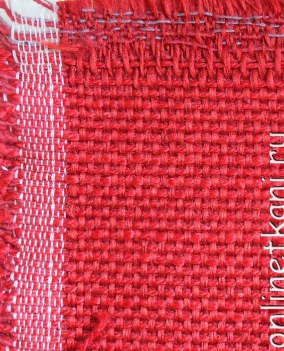 """Ткань Гобелен """"Малиновый"""" 006 цвет красный картинка"""