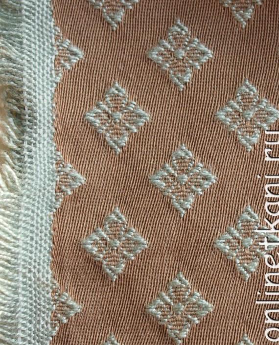 Ткань Гобелен 018 018 цвет бежевый цветочный картинка