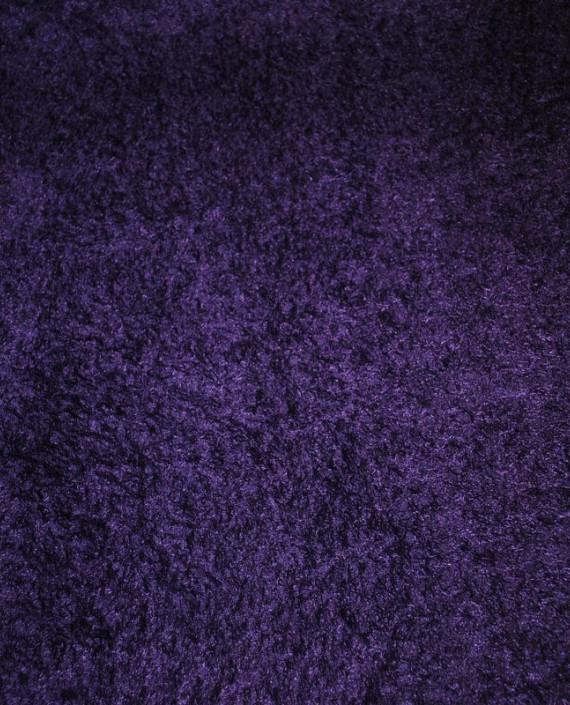 """Искусственный мех """"Слива"""" 0004 цвет фиолетовый картинка 1"""