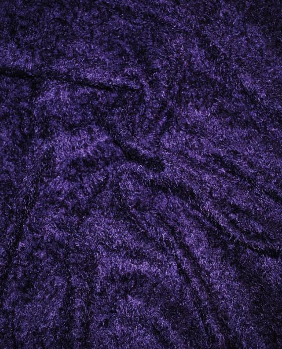 """Искусственный мех """"Слива"""" 0004 цвет фиолетовый картинка"""