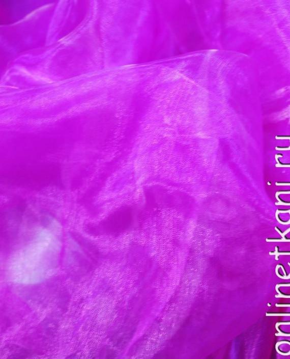 """Ткань Органза """"Фиолетово-красная"""" картинка"""