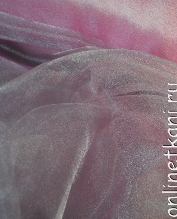 """Ткань Органза """"Бледно-розовая"""" 0016 цвет розовый картинка"""