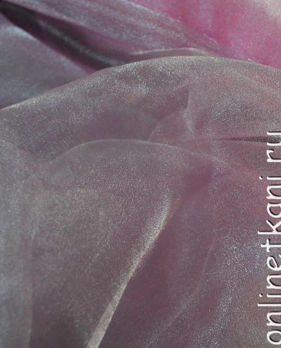 """Ткань Органза """"Бледно-розовая"""" 0016 цвет розовый картинка 2"""