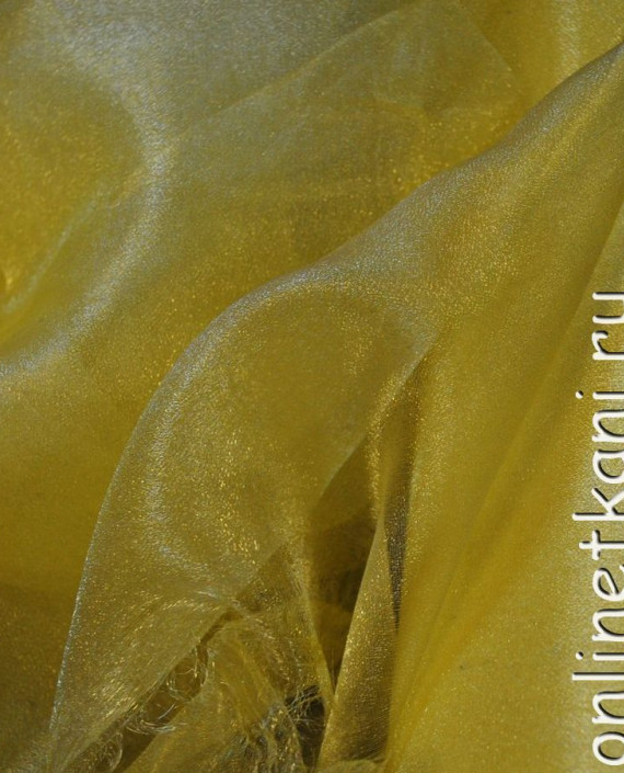 "Ткань Органза ""Желтая"" картинка"