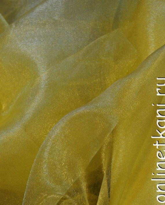 "Ткань Органза ""Желтая"" картинка 1"