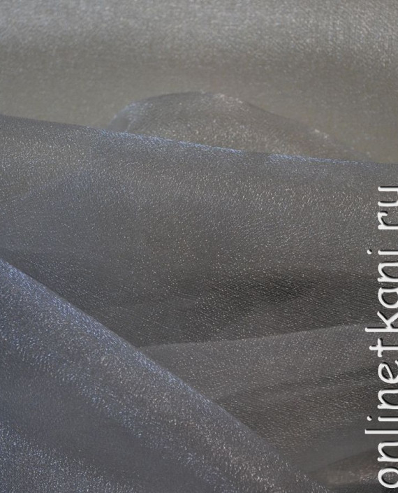 "Ткань Органза ""Льняная"" 0032 цвет белый картинка"