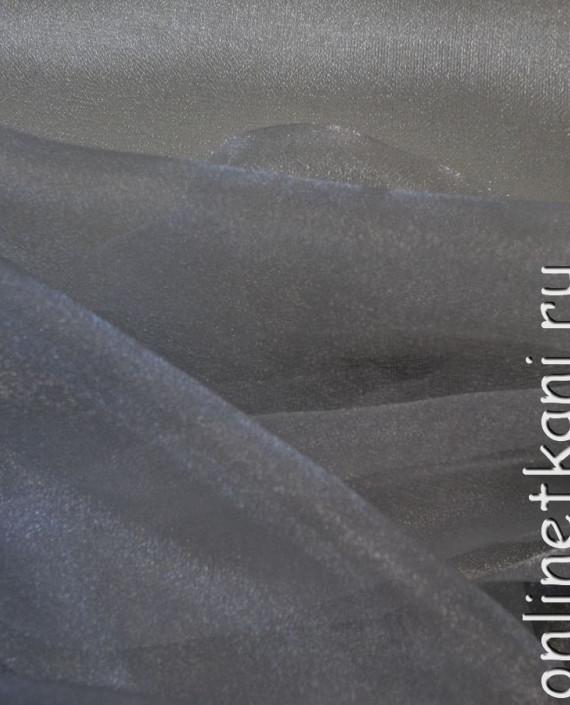"Ткань Органза ""Льняная"" 0032 цвет белый картинка 1"
