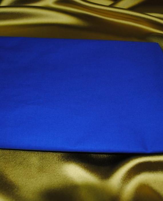 """Ткань Поплин """"Голубой"""" 003 цвет голубой картинка"""