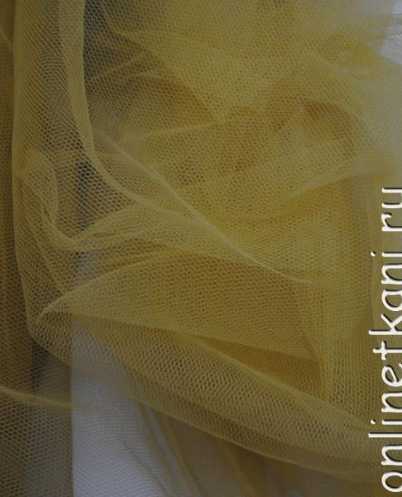 """Сетка мягкая (Фатин)  """"Бежевый"""" 0014 цвет желтый картинка"""