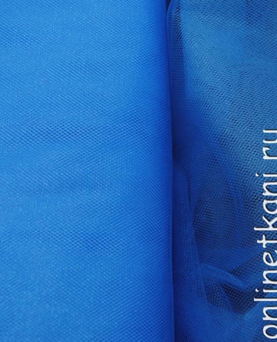 """Сетка (Фатин)  """"Голубая"""" 0003 цвет голубой картинка"""