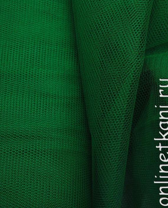 "Сетка жесткая (Фатин)  ""Изумруд"" 0010 цвет зеленый картинка"