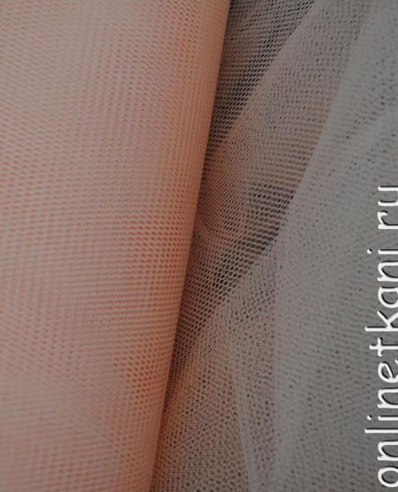 """Сетка жесткая (Фатин)  """"Кремовая"""" 0011 цвет розовый картинка 1"""