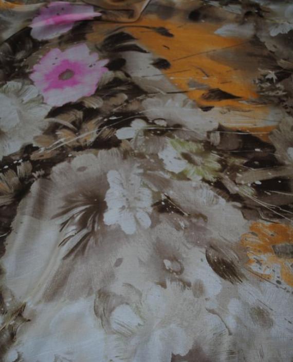 """Ткань Шелк Шифон """"Последний цвет"""" 0060 цвет разноцветный абстрактный картинка 1"""
