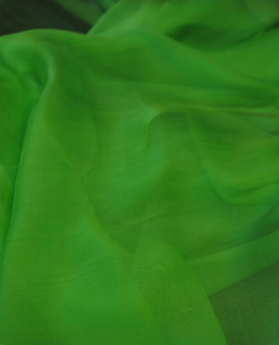 "Ткань Шелк Шифон ""Бледно-зеленый"" картинка 2"
