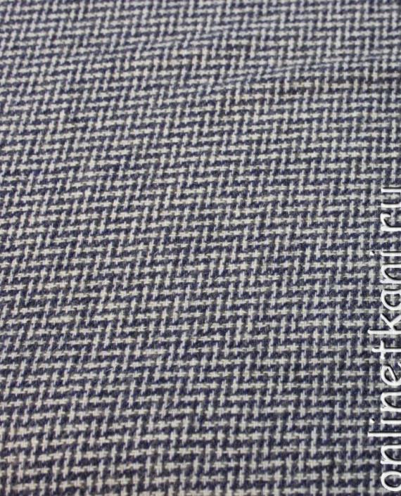 """Ткань шерстяная """"Ёлочка"""" 4012 цвет разноцветный геометрический картинка"""