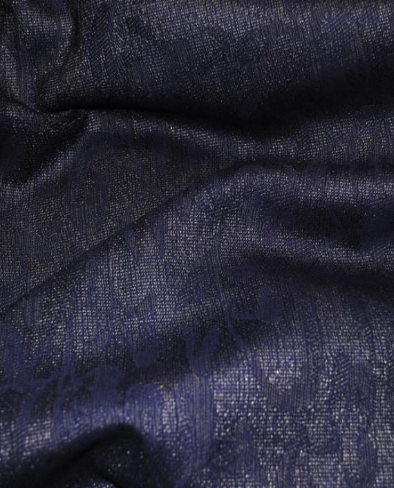 """Ткань Шерсть """"Мечты"""" 0003 цвет фиолетовый цветочный картинка"""