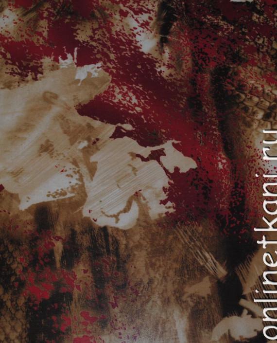 """Ткань Шифон """"Брызги"""" 4001 цвет разноцветный абстрактный картинка"""
