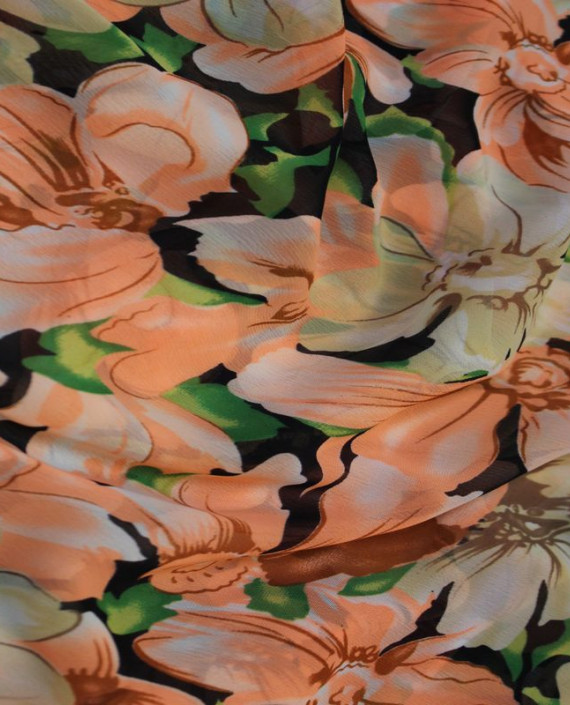 """Ткань Шифон """"Нежность+Цветы"""" картинка 1"""