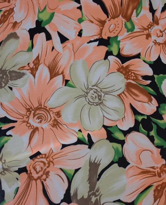"""Ткань Шифон """"Нежность+Цветы"""" картинка 2"""