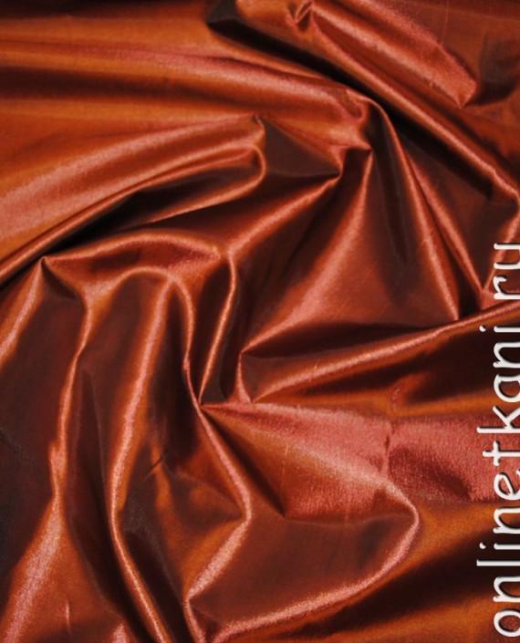 Ткань Тафта 009 цвет красный картинка