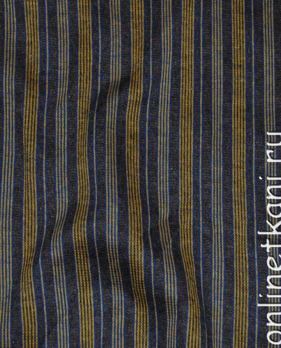 """Ткань Трикотаж """"Полоска"""" 0013 цвет разноцветный в полоску картинка"""