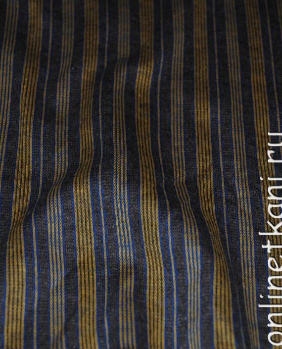 """Ткань Трикотаж """"Полоска"""" 0013 цвет разноцветный в полоску картинка 1"""