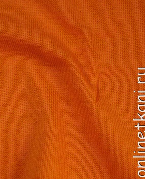 "Ткань Трикотаж ""Рыжий"" 0002 цвет оранжевый картинка 3"