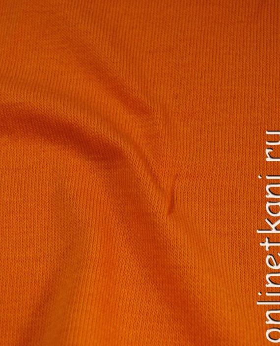 "Ткань Трикотаж ""Рыжий"" 0002 цвет оранжевый картинка 2"