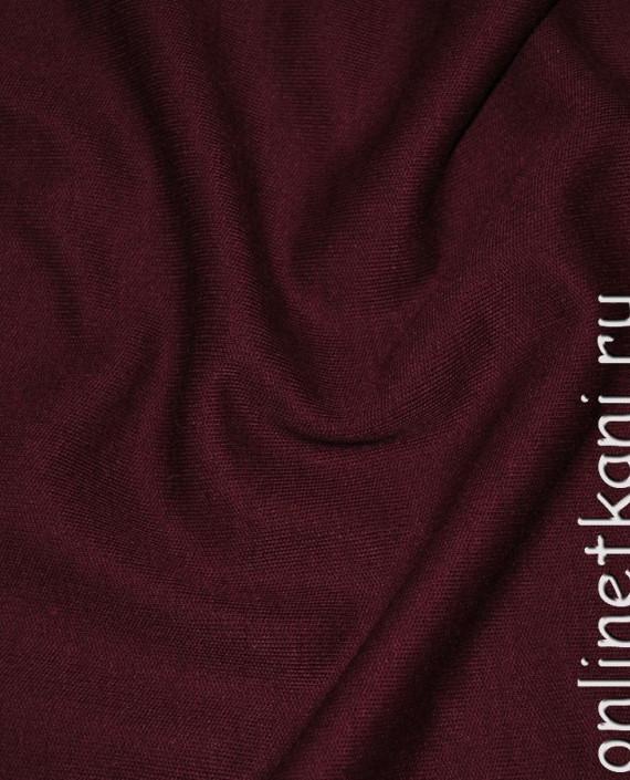 """Ткань Трикотаж """"Бурый"""" 0005 цвет бордовый картинка"""