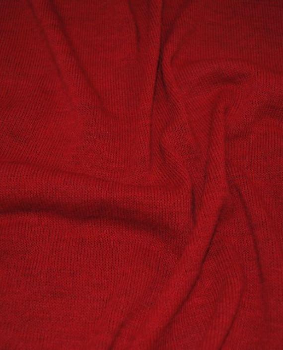 """Ткань Трикотаж """"Кардинал"""" 0003 цвет красный картинка"""