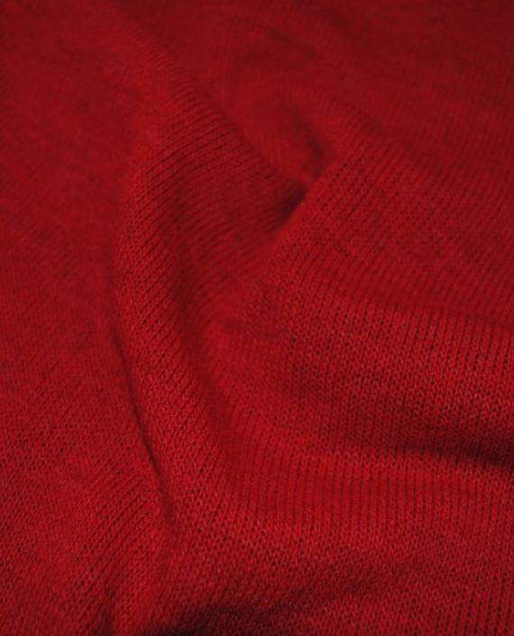 """Ткань Трикотаж """"Кардинал"""" 0003 цвет красный картинка 3"""