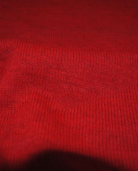 """Ткань Трикотаж """"Кардинал"""" 0003 цвет красный картинка 2"""