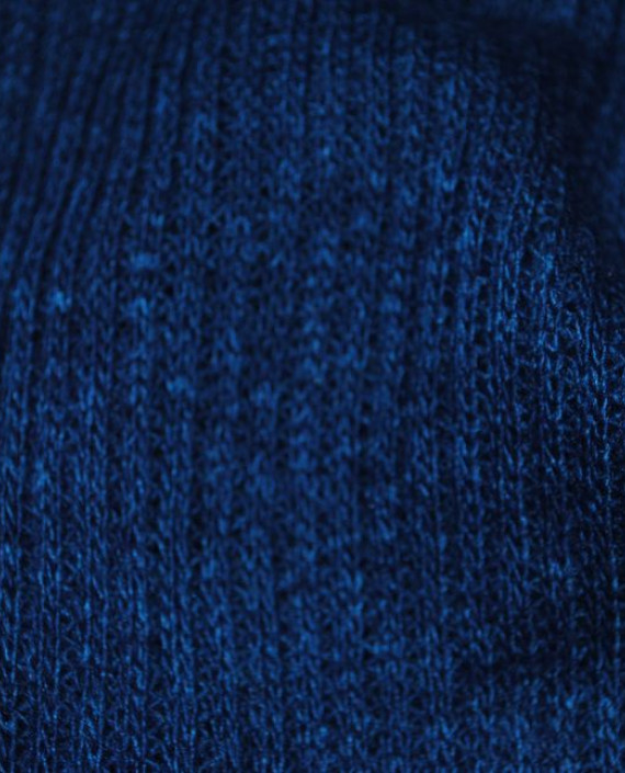 "Ткань Трикотаж ""Сапфир"" 0004 цвет синий картинка 2"