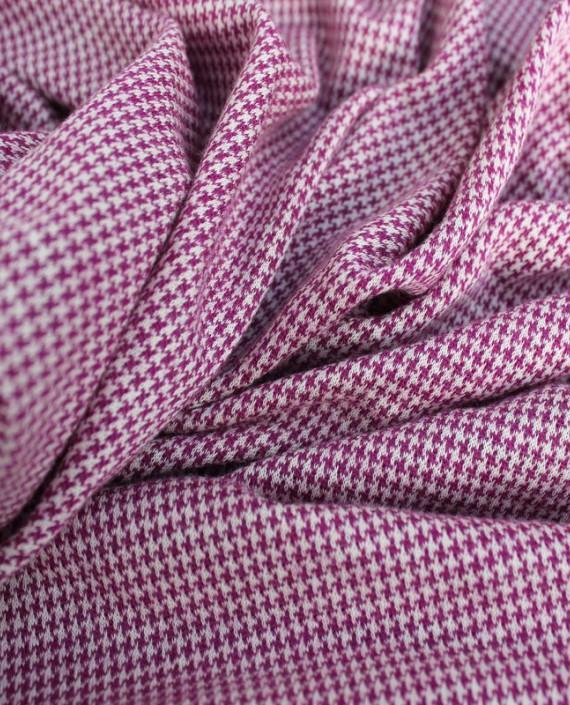 """Ткань Трикотаж """"Гусиная лапка"""" 0002 цвет розовый гусиная лапка картинка"""