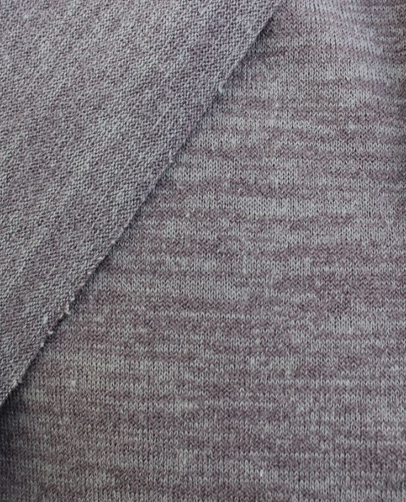 "Ткань Трикотаж ""Серый"" 0004 цвет серый меланж картинка 2"