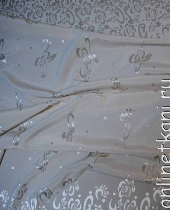 Ткань вискоза 0008 цвет серебро картинка