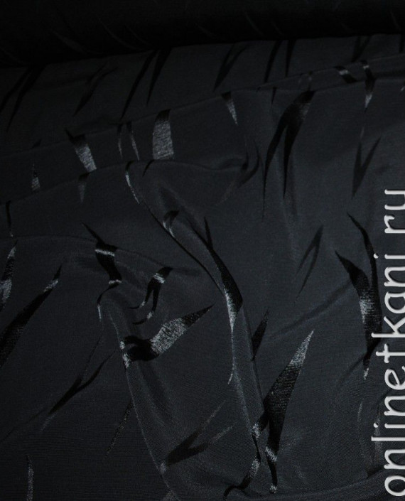 Ткань вискоза 0009 цвет серый абстрактный картинка